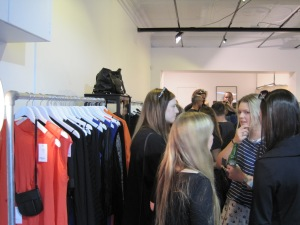 Orange rules at the Company of Strangers shop launch