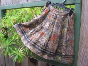 Sylvester by Kate Sylvester skirt ($6) – Butterflies Hospice Shop, Hanover Street, Dunedin