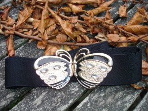 Vintage butterfly belt from Purple Rain (403 Princes Street).