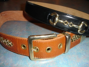 Vintage belts from The Modern Miss (21 Moray Place).