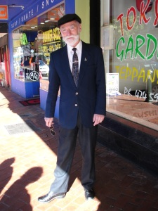Ralph from Oamaru wears vintage collected over a number of years.
