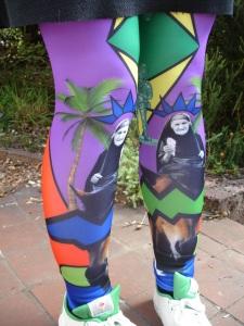 Rakel Blom leggings ($75) bought from the designer herself!