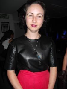 Stephanie wears Salasai.