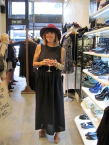 Dunedin designer Cherry Austin-Spivey, formerly of Cherry Cotton Candy. Her new label is 'mickeylovesmallory'.