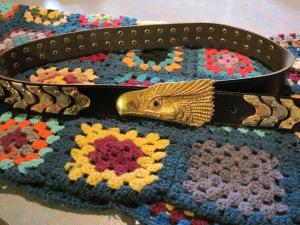 Vintage eagle belt.