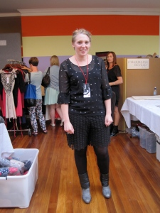 Charmaine Reveley, fashion designer. You really pulled out all the stops to make this event such a success.