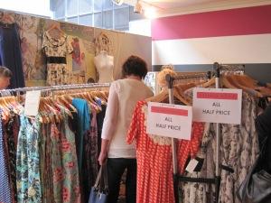 Stall of Dunedin designer, Wendy Phizacklea.