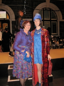 Adair and Tannia. The most stylish pair of the night – the Otago Daily Times thought so too. They are dressed entirely in vintage and Tannia runs an online vintage shop called 'Most Wanted'.