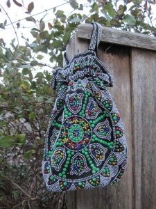 Vintage beaded bag ($6) – ReStore, Corner Vogel and Gordon Streets, Dunedin