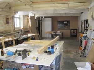Craig's workroom