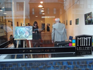 Mint Gallery, 32 Moray Place.