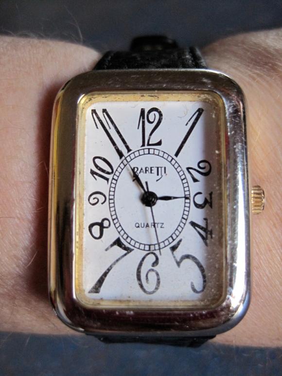 Retro watch ($10)  - Butterflies Hospice Shop, 14 Hanover Street