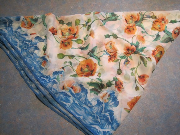 Stolen Girlfriends Club poppy print scarf ($45) – Slick Willy's, 323 George Street
