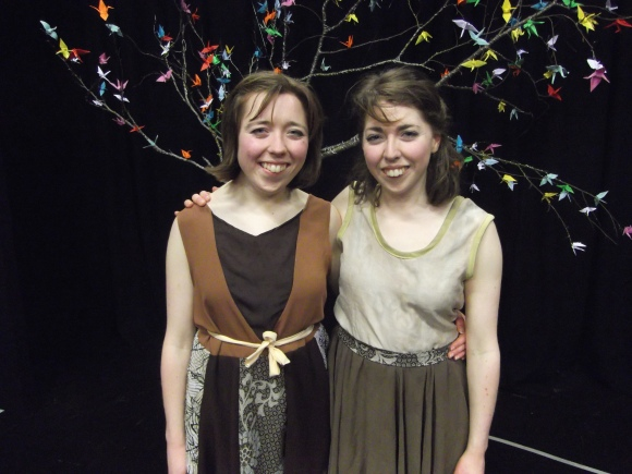 From left: Miriam Noonan and Anna Noonan.