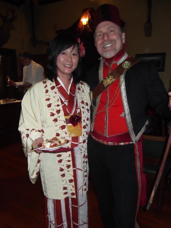 Ayumi and Wesley from Lyttelton
