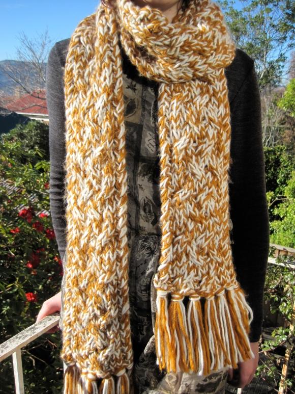 Karen Walker scarf ($48) – Belle Bird Boutique (327 George Street).