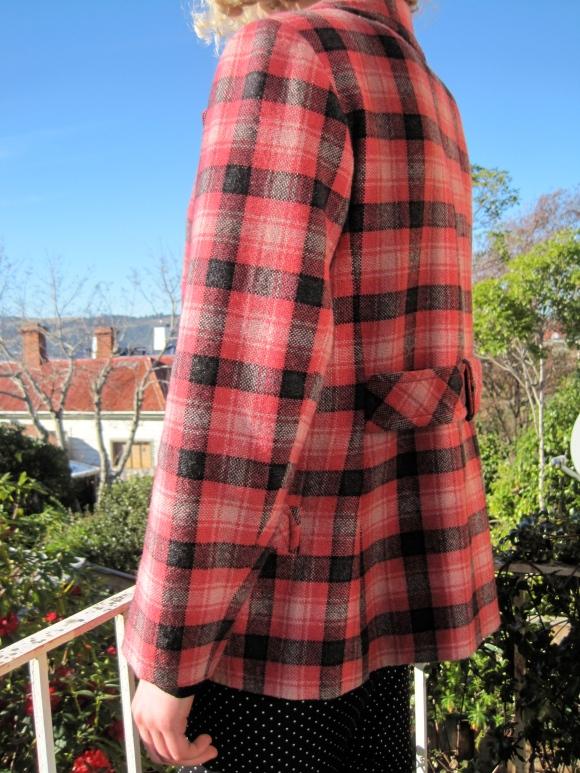 Wool coat ($48) – Box of Birds (George Street, Port Chalmers).