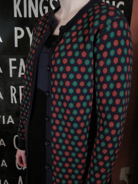 Wool cardigan by Waughs ($99 sale price) – Waughs (460 George Street).