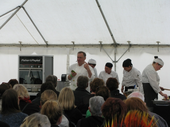 Tony Heptinstall Cookery Demonstration
