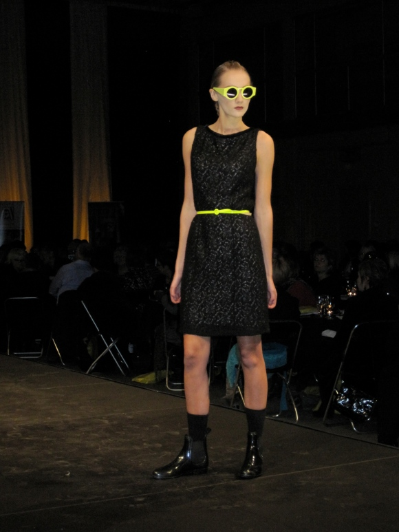 Dress and Karen Walker Eyewear from Dada