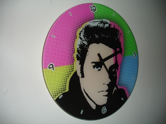 Elvis clock – another opshop find