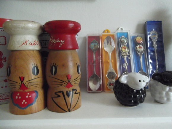Knick Knacks purchased from various opshops