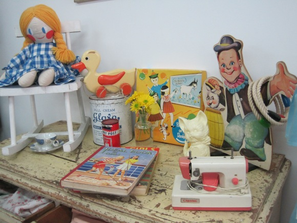 Games and toys – wish we'd bought the duck!