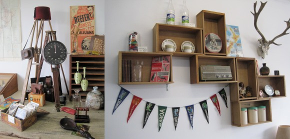 A selection of collectibles