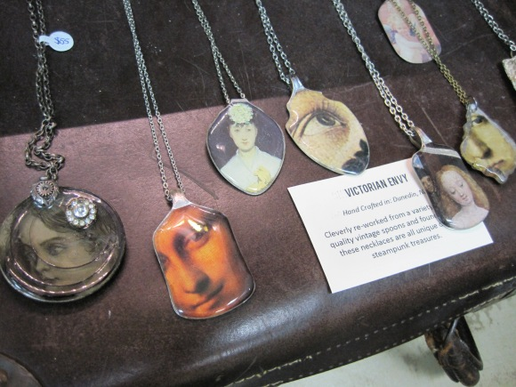 Re-worked spoon jewellery by Victorian Envy