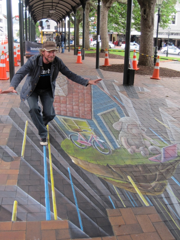 Leon Keer, artist – a balancing act!