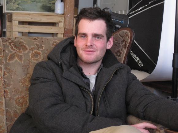 Jon Thom in his studio (July 2013)