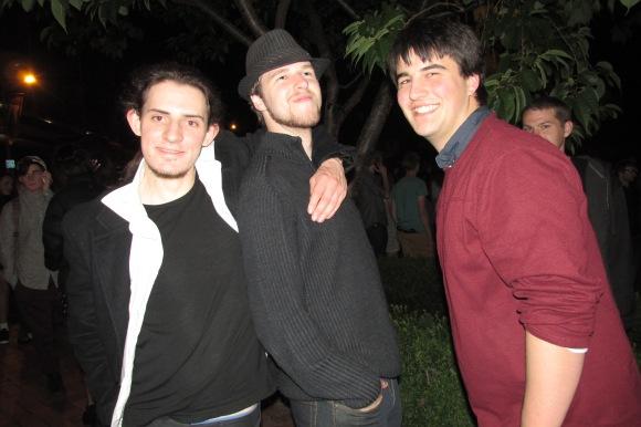 Zac, Michael and Jay