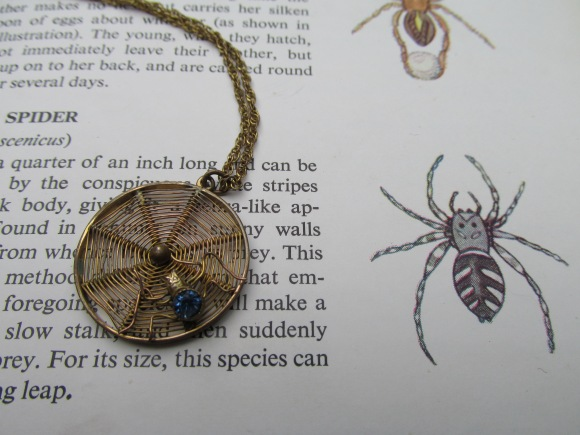 1940s spider pendant from Two Squirrels Vintage (Milton)