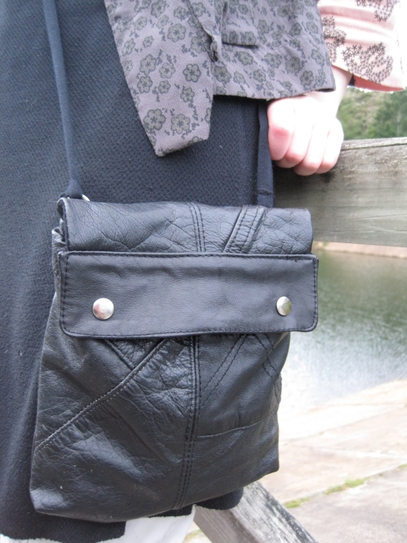 Company of Strangers 'Heavy Metal' bag made from recycled leather