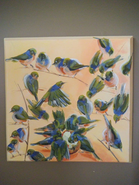 'Feathered Friends' by Mary Thompson