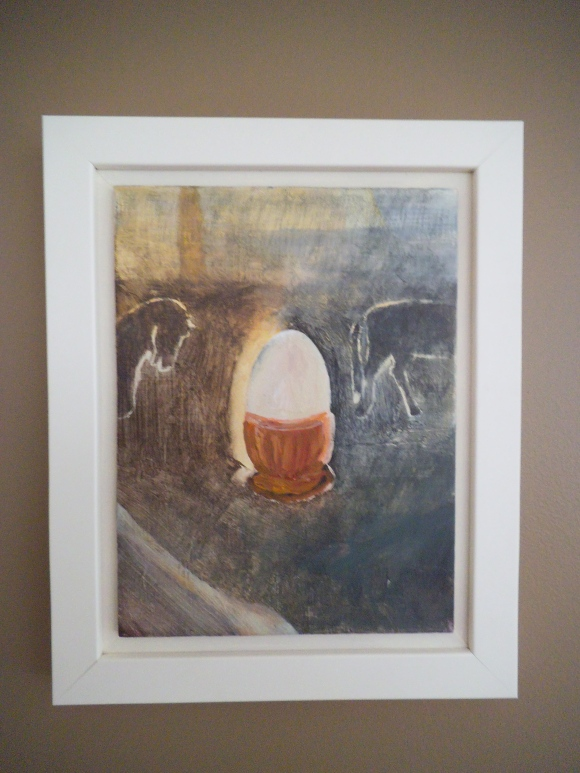 'Egg Cup' by Nicola Hansby