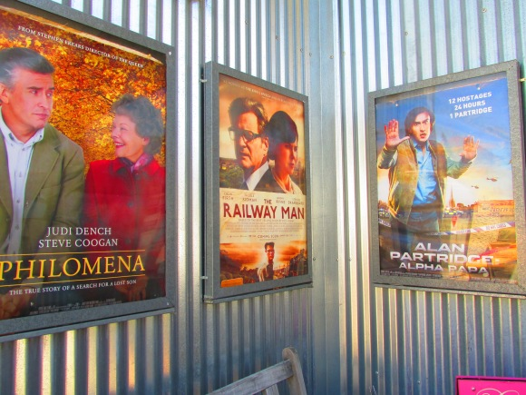 Dorothy Browns' posters in the order we saw these films – what a coincidence.