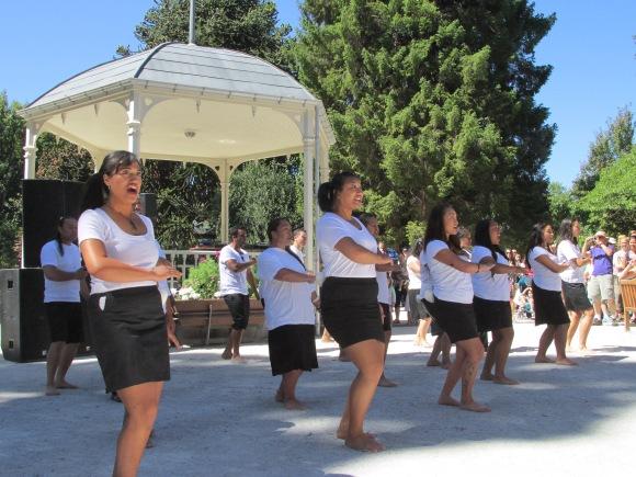 Wakatipu High School's kapa haka group, Te Iti O Tahuna