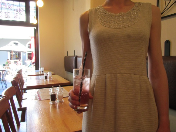 Avanti. 'Sunsparkle' dress by Andrea Moore from Decode, Queenstown.