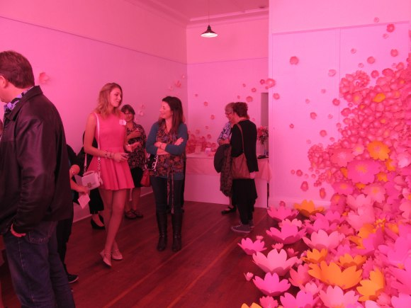 Mint Gallery turns pink