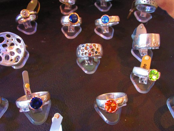 Sparkling rings by Debra Fallowfield