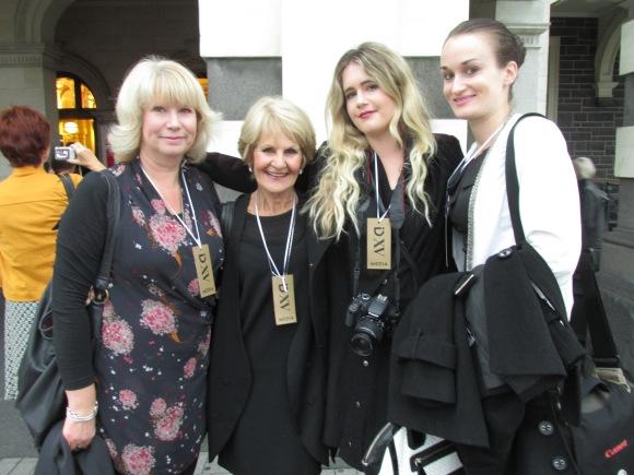 Members of the iD media team