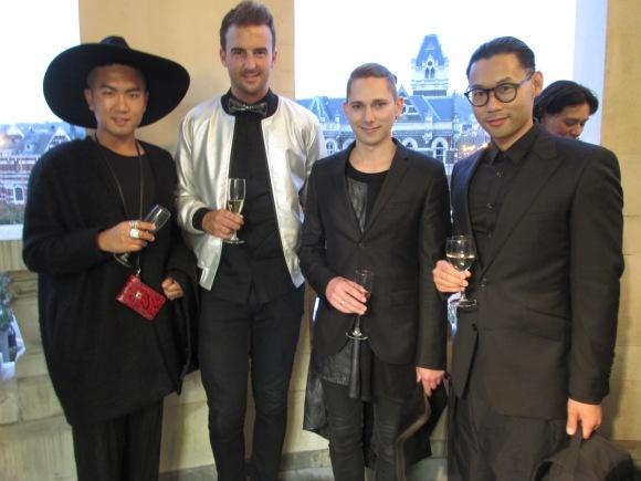 Foureyes. From left: Mino, Alex, Danny, Chin.