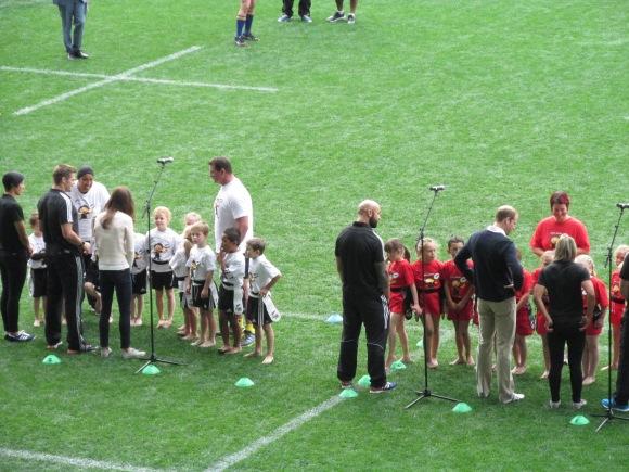 Team Kate (Pirates, Dunedin) and Team William (Clutha)