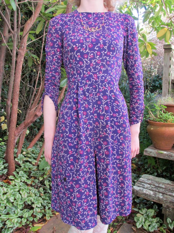 1940s dress ($50) – Two Squirrels Vintage (Milton).