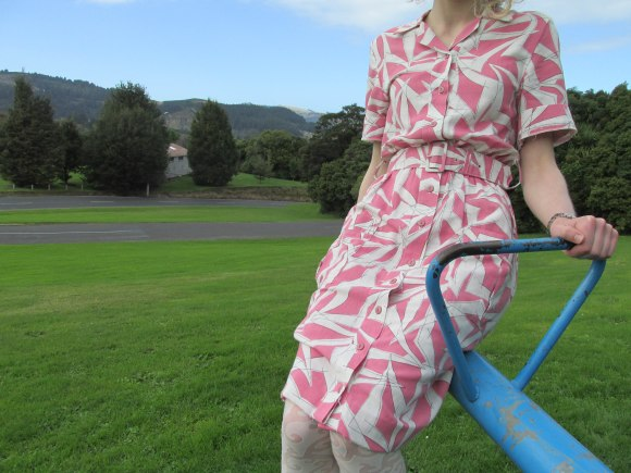 Vintage shirtdress ($20) – TradeMe.