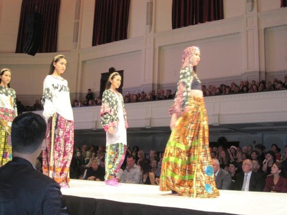 Mook Attakanwong's 'Libertine'. Mook won the Dunedin Golden Centre Mall award.