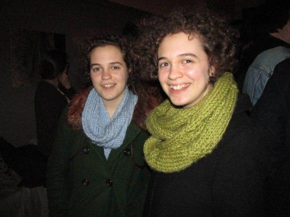 Hannah and Nyssa