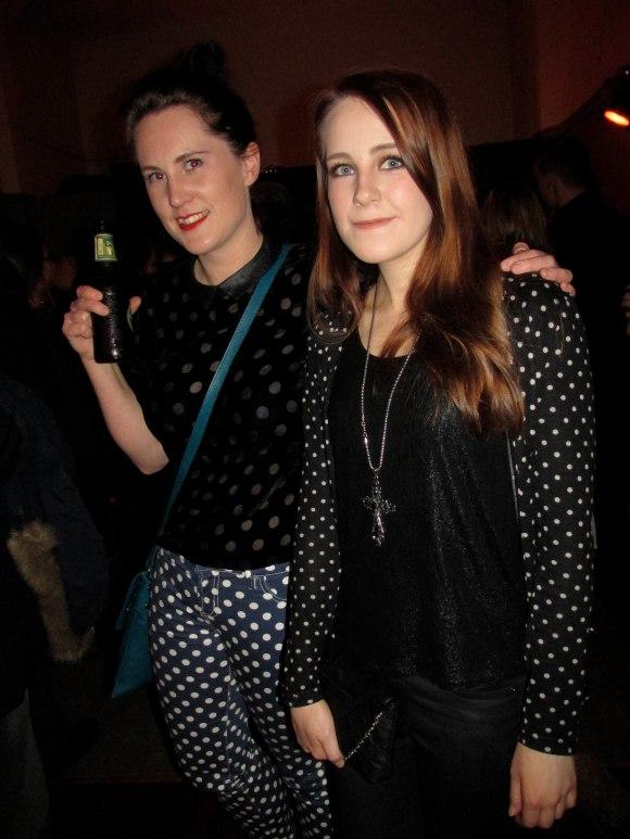 Sarah (right) & friend