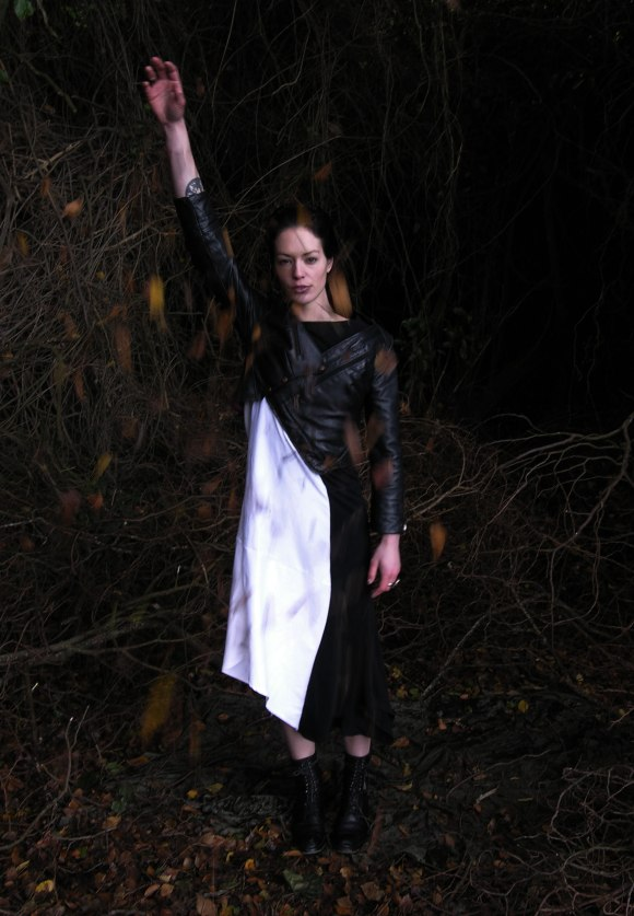 Melanie Child 'Inertia' Spring/Summer 2014/15 Collection. Model: Steph Child. Photo: Melanie Child.